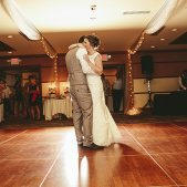 Bride & Groom on the Dance Floor; Photo Credit: Brandon Werth Photography