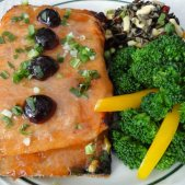 Cherry Glazed Salmon