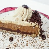 Chocolate Coffee Toffee Torte