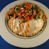 Grilled Chicken Tarragon Salad