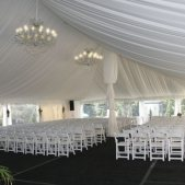 Ceremony in Tented Garden