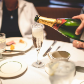 Our Sunday Champagne Brunch. We offer unlimited champagne
