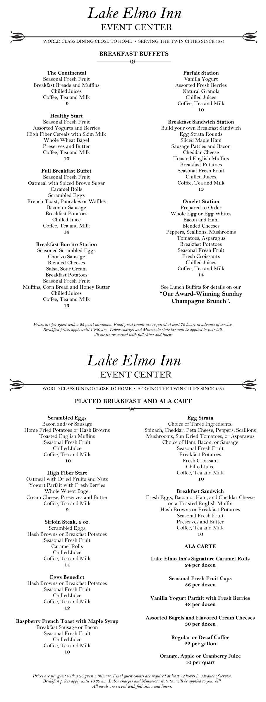 lake elmo inn event center lake elmo mn